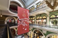 Lunar New Year retail campaign art for QVB